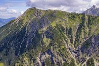 Entschenkopf (2043m), Allgäuer Alpen, Allgäu, Bayern, Deutschland, Europa