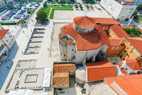 View of old town Zadar