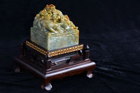 Chinese ancient jade carving art