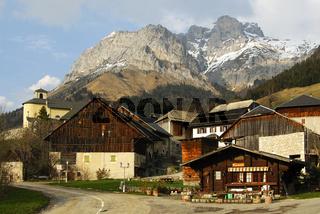 Bergdorf Montmin in Hochsavoyen