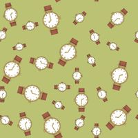 Seamless pattern with hand watches 570