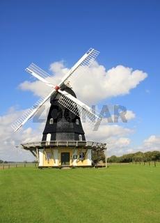 Kanehoej Moelle, old windmill in Zealand, Denmark.