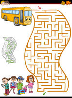 maze or labyrinth activity for kids