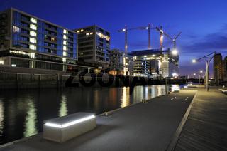 Baustelle der Elbphilharmonie