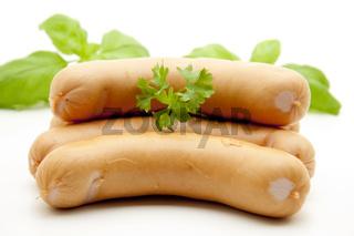 Bockwurst mit Kräuter