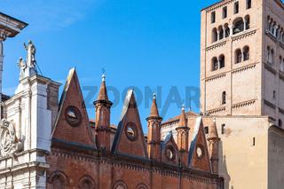 Mantova Duomo Cathedral in Mantua city
