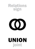 Astrology: UNION (join)
