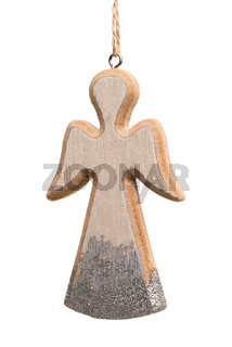 Christmas angel made of wood
