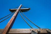 Mast of a pirate ship