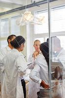 Ärzte Team in einer Schulung