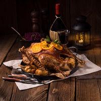 Crispy Roast goose