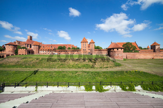 The Malbork Castle (Marienburg)