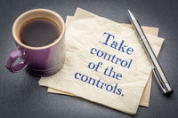 Take control of the controls