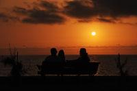 Sonnenuntergang am Playa de Valle Gran Rey