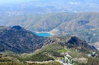 Lake in Sierra Nevada, Spain.