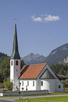 Graswang in Upper Bavaria