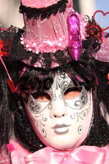 Mädchenmaske