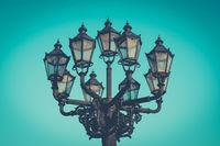 beautiful old lantern - historic street light