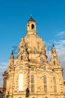 Die restaurierte Frauenkirche in Dresden