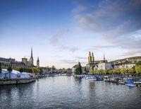 central zurich Altstadt historic landmark old town area