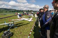 Model flying day Triengen, Lucerne, Switzerland, Europe