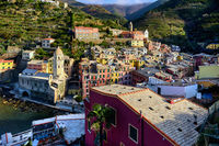 Picturesque Vernazza. Italy