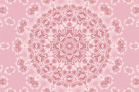 Abstract roses pattern