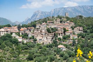 Bergdorf im Languedoc