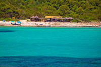 Idyllic turquoise beach Sakarun on Dugi Otok island