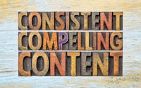 consistent, compelling content word abstract