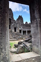 Bayon Temple At Angkor Wat, Cambodia