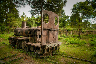 Disused Don Khon railway