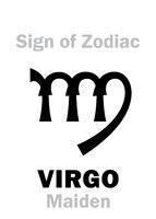 Astrology: Sign of Zodiac VIRGO (The Maiden)