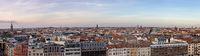 Berlin Skyline Panorama mit den Hackeschen Höfen
