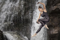 Jump over the waterfall