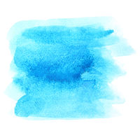 Blue watercolor abstract background