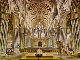 Exeter Cathedral Interior The Nave