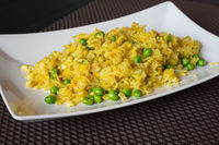 Fried curry rice