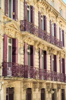 Hausfassade Narbonne