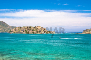 The ex-leper colony of Spinalonga