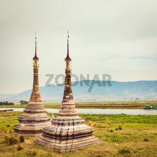 Takhaung Mwetaw Paya in Sankar. Myanmar.