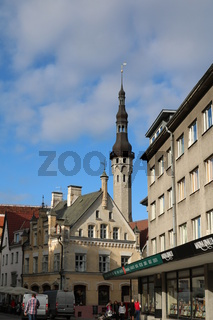 Estland, Tallinn, Rathausturm