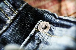 Jeans / nietenhose detail
