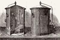 Hyperbaric chamber, 19th century