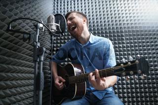 Singing man
