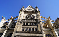 Church of St Eustache in Paris