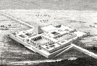 Reconstruction of the North West Palace of Ashurnasirpal II, Assyria, Iraq