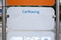 Sign Car Sharing, Oldenburg, Germany, Europe