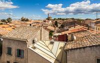 Town Aigues-Mortes. France