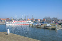 Harbor of Marken,Markermeer,Netherlands